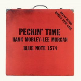 Hank Mobley Lee Morgan Peckin' Time 2LP 45rpm 180 Gram Vinyl Blue Note Analogue Productions RTI USA