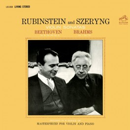 Rubinstein Szeryng Beethoven Brahms Sonatas LP 200g Vinyl RCA Living Stereo Analogue Productions US