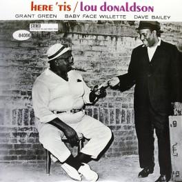 Lou Donaldson Here 'Tis 2LP 45rpm 180g Audiophile Vinyl Blue Note Records Analogue Productions RTI USA