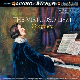 Gary Graffman The Virtuoso Liszt LP 200 Gram Vinyl RCA Living Stereo Analogue Productions QRP USA