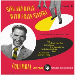 Sing And Dance With Frank Sinatra LP 180g Vinyl 70th Anniversary Limited Edition Impex RTI USA