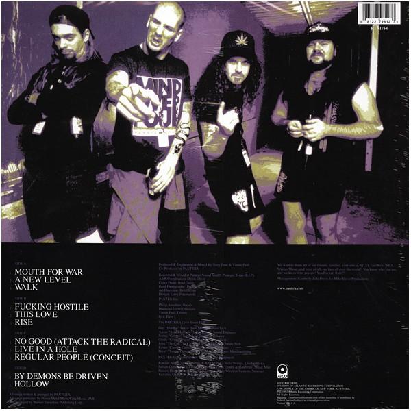 Pantera Vulgar Display Of Power 2lp 180 Grams Vinyl From