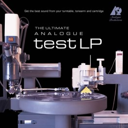 The Ultimate Analogue Test LP 200g Vinyl Analogue Productions Turntable Setup Check Disc QRP USA