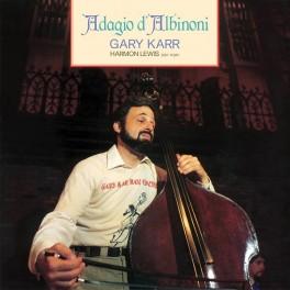 Gary Karr Adagio D Albinoni Harmon Lewis 180g Vinyl Lp