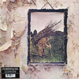 Led Zeppelin IV LP 180 Gram Vinyl Original Edition 2014 Remastered by Jimmy Page Optimal Germany