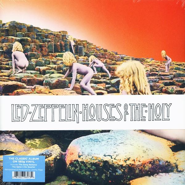 Led Zeppelin Houses Of The Holy Lp 180g Vinyl Original