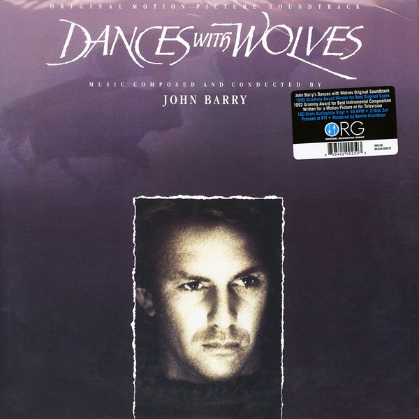 Dances With Wolves Soundtrack Org 2lp 180g Vinyl 45rpm