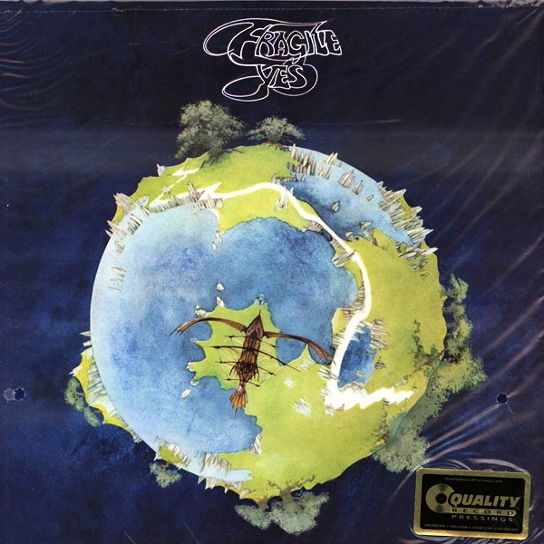 Yes Fragile Lp 200 Gram Vinyl Analogue Productions