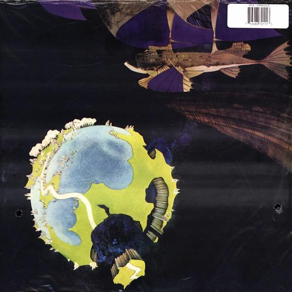 Yes Fragile Lp 200 Gram Vinyl Analogue Productions