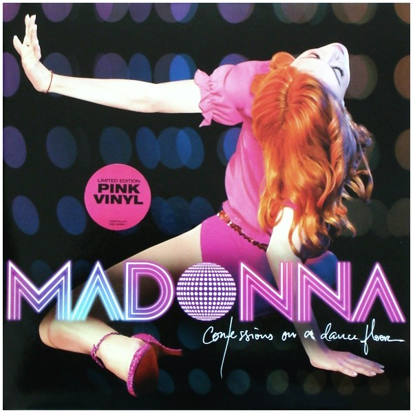 Madonna Confessions On A Dance Floor 2lp Pink Vinyl