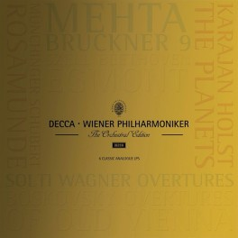 Decca Wiener Philharmoniker The Orchestral Edition 6LP 180 Gram Vinyl Numbered Limited Edition Box Set