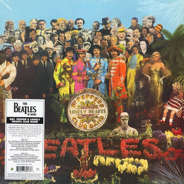 The Beatles Sgt Pepper S Lonely Hearts Club Band Lp Mono
