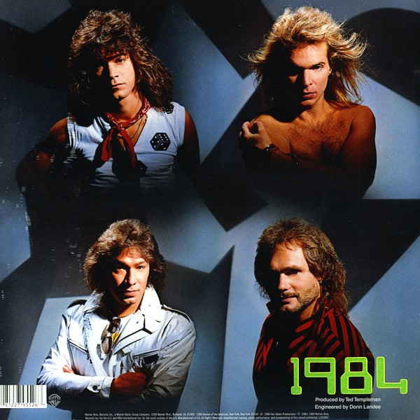 Van Halen 1984 Lp 180 Gram Vinyl 30th Anniversary Edition