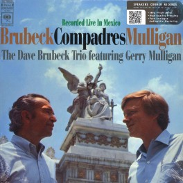Dave Brubeck Trio & Gerry Mulligan Compadres Live In Mexico LP 180g Vinyl Speakers Corner Pallas EU