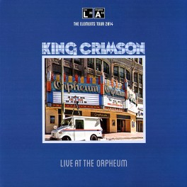 King Crimson Live at the Orpheum LP 200 Gram Vinyl Limited Edition Gatefold Robert Fripp DGM 2015 EU