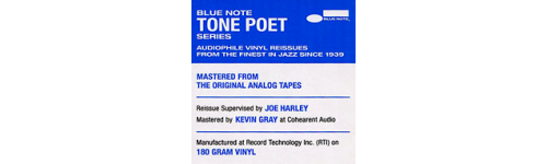 Blue Note Tone Poet Audiophile Series