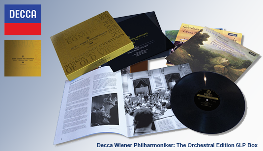Decca Wiener Philharmoniker The Orchestral Edition 6LP 180 Gram Vinyl