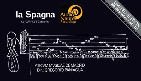Gregorio Paniagua La Spagna AudioNautes Stan Ricker Half-Speed Mastering 2LP 180 Gram Vinyl
