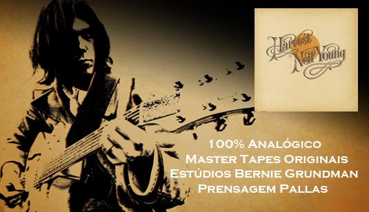 Neil Young Harvest 180gr Vinil LP Reedição Audiófila
