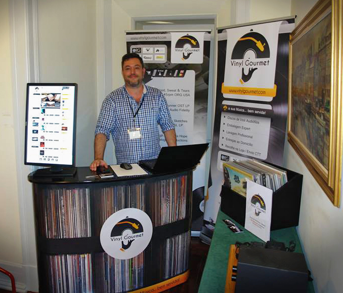Vinyl Gormet at the Portugal Audioshow 2014