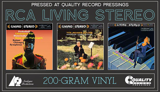 Analogue Productions RCA Living Stereo 200 Gram Vinyl