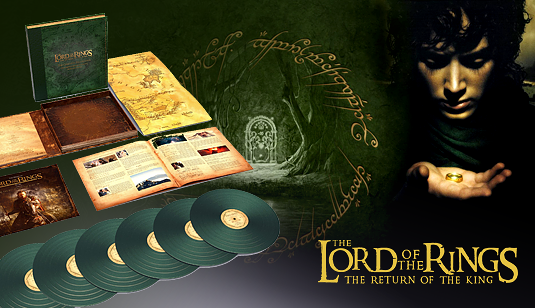 The Lord Of The Rings Trilogy Complete Recordings Vinil