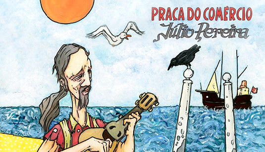 Júlio Pereira Praça do Comércio LP Vinyl Numbered Limited Edition Autographed Tradisom Portugal 2017