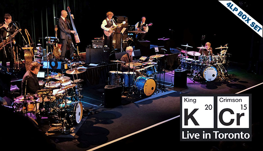 King Crimson Live in Toronto 4LP 200 Gram Vinyl + DVD Audio Limited Edition Deluxe Box Set 2017 EU